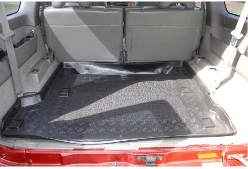 Y61 5 doors from 1998-2010 Tailored Trunk Mat with Antislip additional description: 5//7 seats; 3rd row pulled up MTM Boot Liner Patrol GR II cod 2398