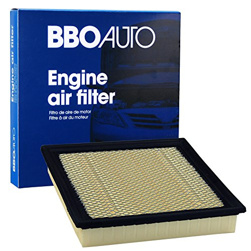 (BBO AUTO BCA10262 Engine Air Filter - Fits Ford F-150, F-250, F-350, Expedition | Lincoln Navigator (FA1883 and CA10262 REPLACEMENT))