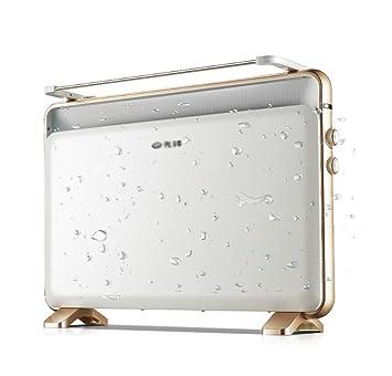 Calefactor eléctrico, Estufa de Parrillas de bajo Consumo para el hogar, baño a Prueba de Agua,Vertical: Amazon.es: Hogar
