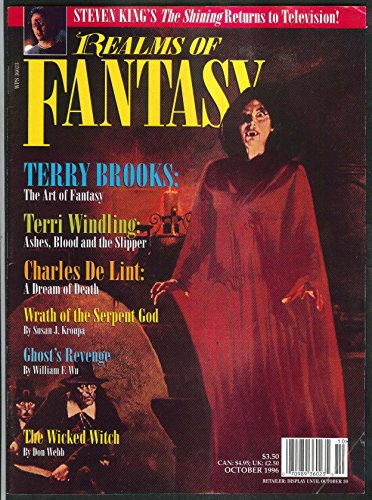 REALMS OF FANTASY Terry Brooks Terri Windling Charles De Lint 10 1996 (Terry Frog)