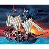 Playmobil - 3940 - Grand bâteau de pirates