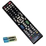 HQRP Remote Control for Sharp AQUOS LC-26DA5U LC-32DA5U LC-32E67U LCD LED HD TV Smart 1080p 3D Ultra 4K+ HQRP Coaster
