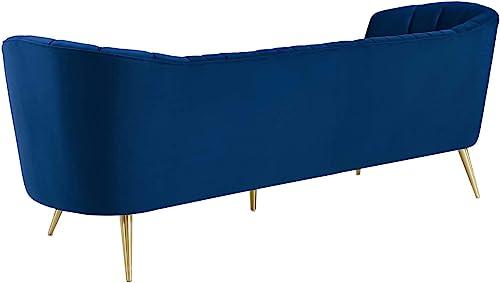 Modway Opportunity Channel Tufted Curved Back Upholstered Performance Velvet Sofa