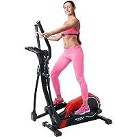 Miweba Sports Crosstrainer MC300 Stepper Ellipsentrainer Heimtrainer - App Steuerung - 21 Kg Schwungmasse - Pulsgurt - Magnetbremse