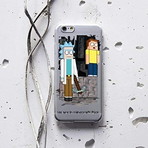 Amazon Com Mort And Rick Like Minecraft Case For Apple Iphone Xr Xs