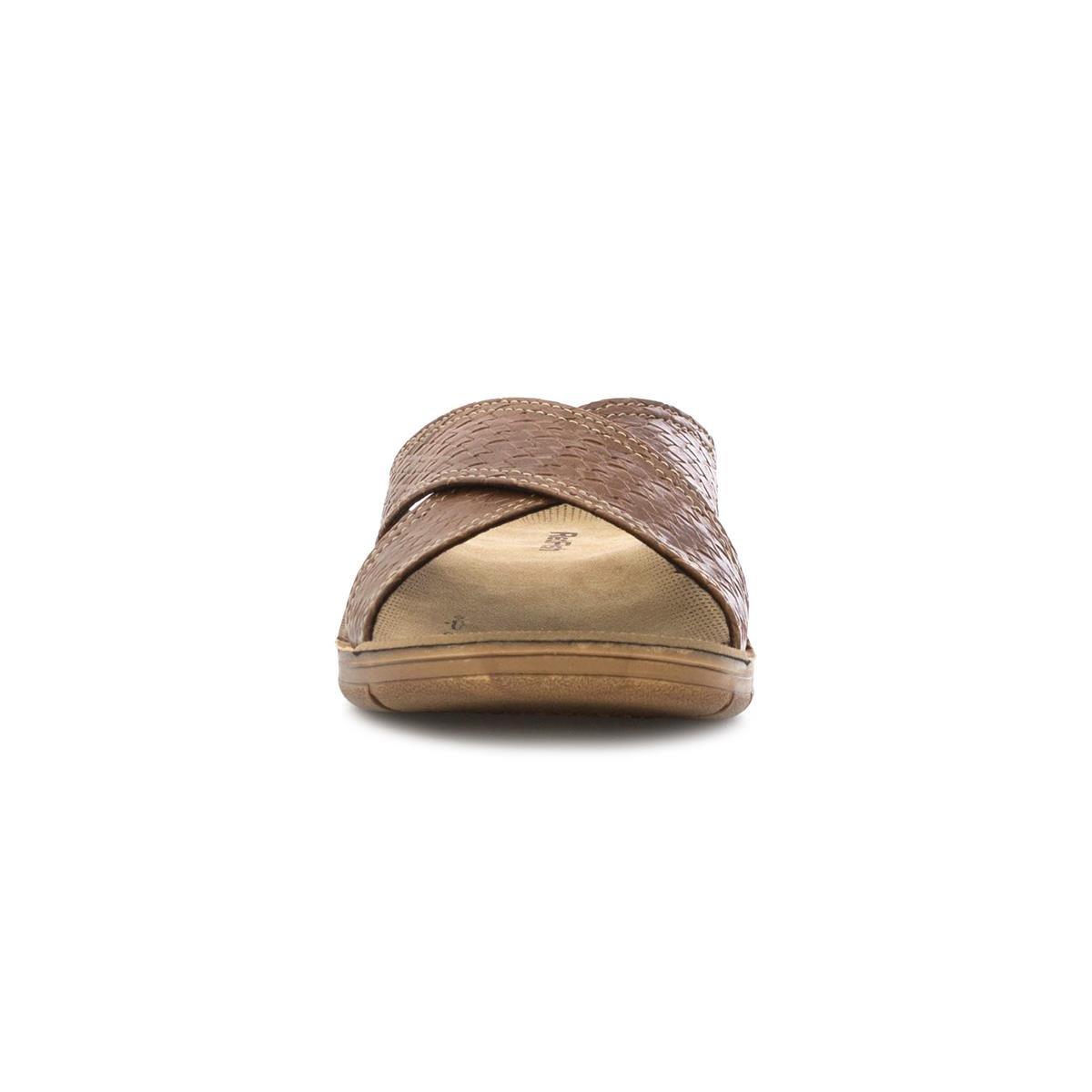 5c8d3cff36f Red Fish Mens Tan Woven Cross Strap Mule  Amazon.co.uk  Shoes   Bags