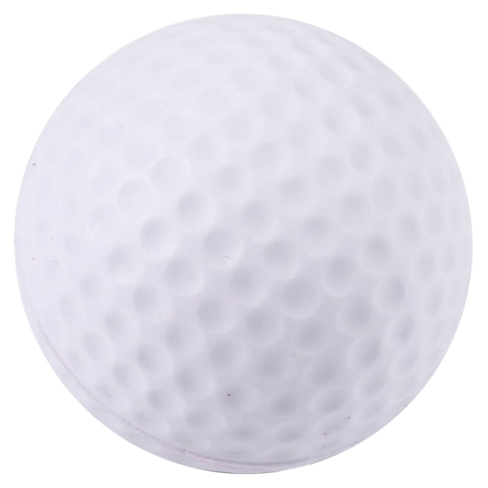Gracefulvara 50pcs White Golf Club PU Ball Indoor Practice Foam Toy Ball