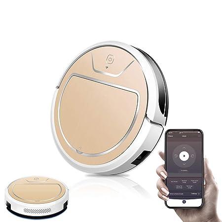 WiFi Aspiradoras Robot Inteligente 2000 Pa, 2600mAh Carga ...