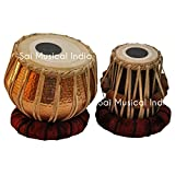 Queen Brass Tabla Set | Professional T9 Model with Gig Bag | Ships from U.S.