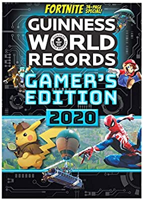 Guinness World Records 2020 List.Amazon Com Guinness World Records Gamer S Edition 2020