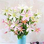 Walmeck-Artificial-Trident-Lotus-Flower-Simulation-Silk-Floral-Fake-Flowers-Single-Branch-for-Wedding-Home-Table-Decor-Art