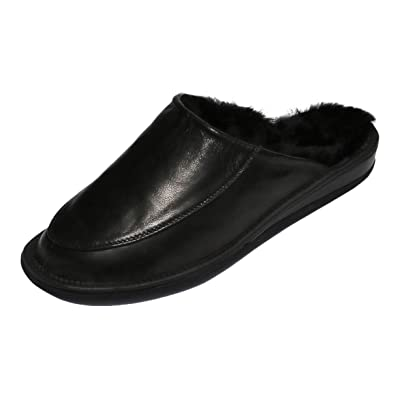 Hollert Men`s Slippers jan Leather Shoes | Slippers