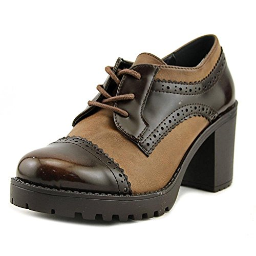 Dolce by Mojo Moxy Womens Rosemary Cap Toe Mules Brown 6e38hSf2J