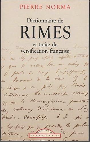 Lire un Dictionnaire de Rimes pdf, epub