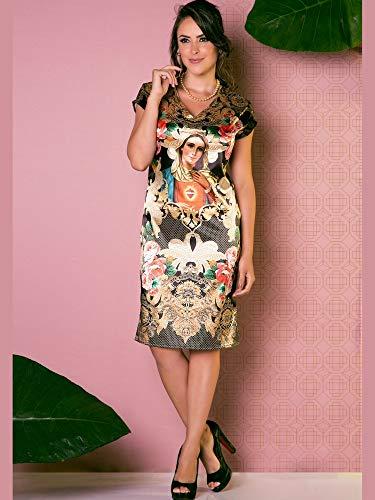 Vestido Católico Imaculado Coração de Maria G
