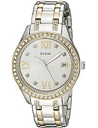 GUESS Women's U0848L4 Analog Display Quartz Two Tone Watch