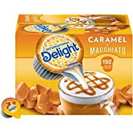 International Delight Caramel Macchiato Liquid Creamer, 192 Count (Pack of 1) Box Shelf Stable Single-Serve Non-Dairy Flavored Coffee Creamer, Great for Home Use, Offices, Parties or Group Events
