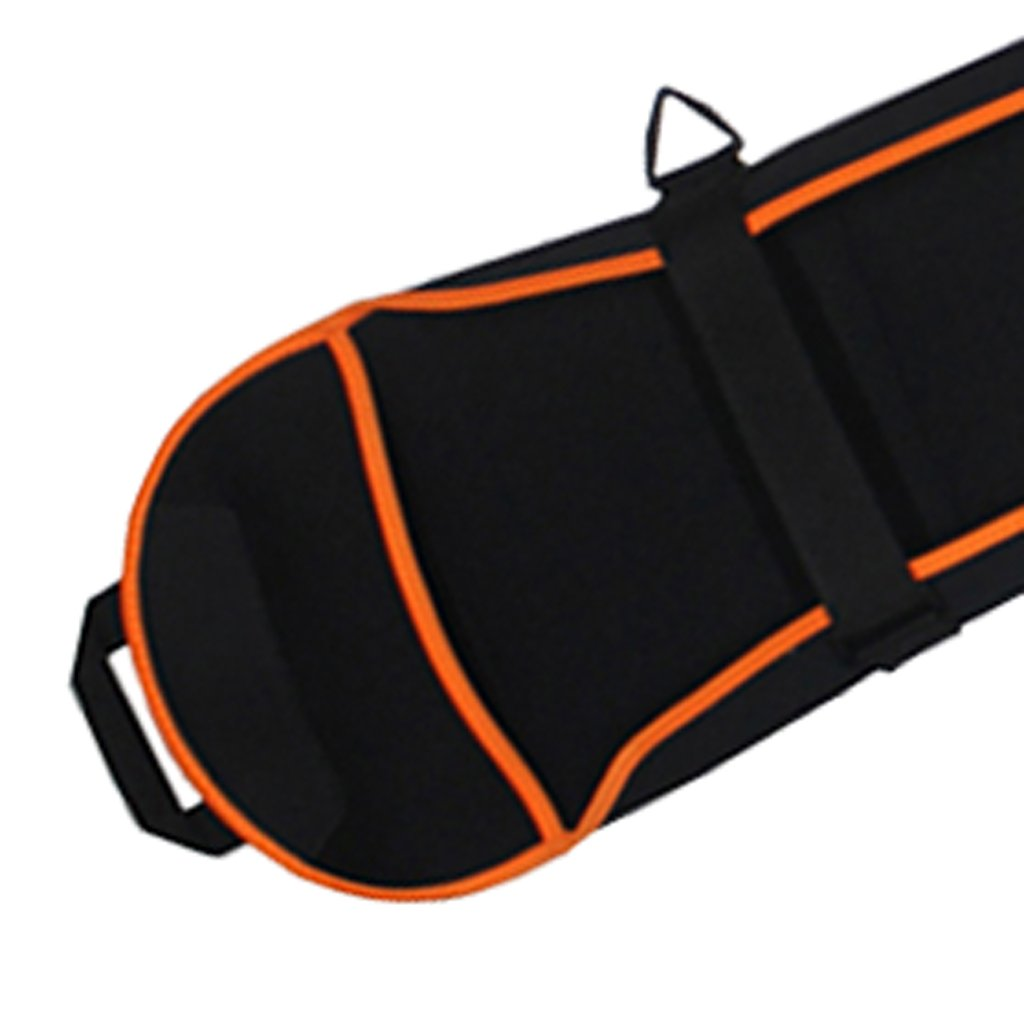 Jili Online Portable Single Ski Board Sleeve Snowboard Cover Suitable for 145cm//155cm Length Board Black 145cm 4 Colors Availale