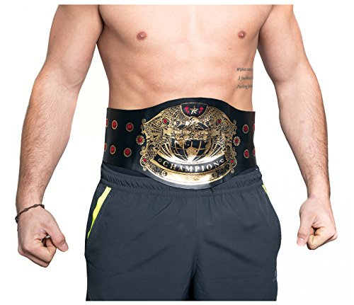 Men's Champion Wrestling Belt Costume Accessory (One Size) -