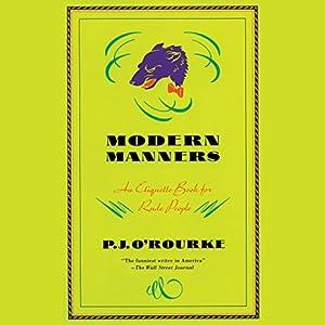 Modern Manners Audiobook