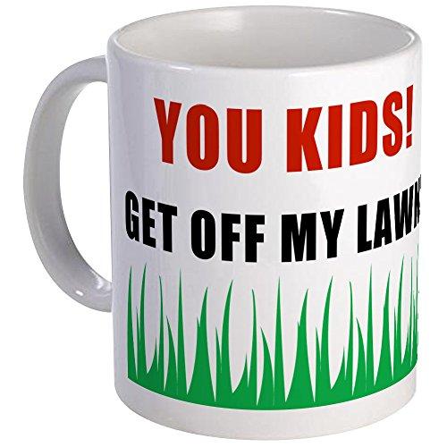 Get Off My Lawn Mug - Unique Coffee Mug, Coffee Cup ()
