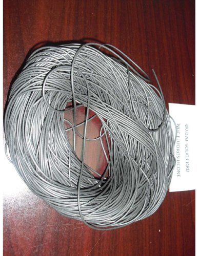 Rubber Conductive Tubing - Conductive Rubber Cord (Ni/C Silicone), 0.093 O.D (10 ft long)