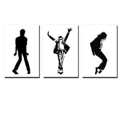 Amazon.com: Wall26 - Canvas Prints Wall Art - Michael Jackson Dance ...