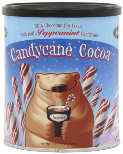 Stephen's Gourmet Hot Cocoa, Candycane Cocoa, 1 Lbs (Pack of (Peppermint Hot Cocoa)