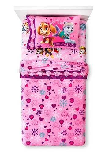 nickelodeon-paw-patrol-twin-sheet-set-microfiber-flannel-featuring-skye-everest-and-more