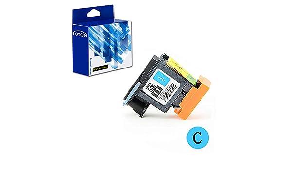 Eston reformado repuesto para cabezal de impresión HP 11 C4811 A cabezal de impresión cian, Magenta) para HP Business Inkjet 1000 1200dtn Officejet Pro K850: Amazon.es: Oficina y papelería