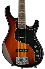 4-string Electric Bass with Alder Body, Maple/Walnut Neck, Rosewood Fingerboard, and 2 Single-Coil Pickups - Tri-Color Sunburst
