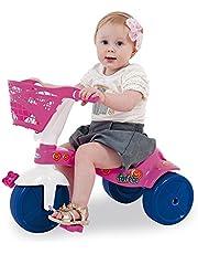 Triciclo Fofete com Cestinha Xalingo Rosa e Roxo