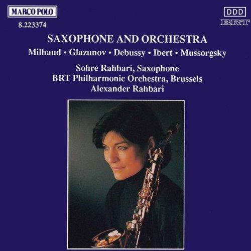 Saxophone Concerto in E flat major, Op. 109: Allegro moderato - Andante - Allegro