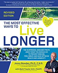 You can be more productive, healthier, and happier… longer!  Living a long life isn't about measuring the number of years lived but how we live them. Jonny Bowden's and Dr. Beth Traylor's recommendations will keep you strong, healthy,...