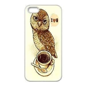 Smart Owl Case Cover Best For Apple Iphone 5 5S Cases KHR-U542164