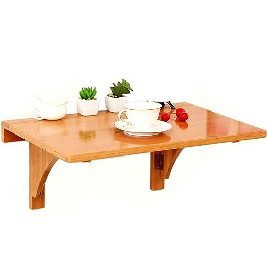 Mesa plegable plegable de pared, mesa de montaje en pared Mesa de ...