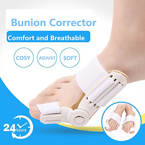 Toe Separator Feet Care Toe Separators Stretchers Foot Pads by ZSZBACE