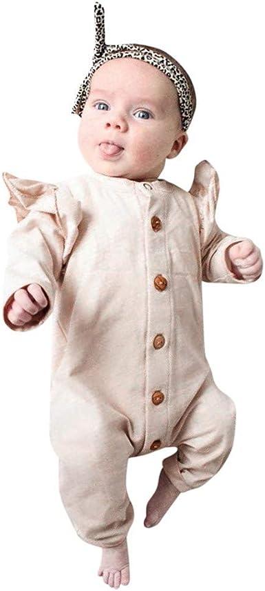 Lot de 2 B/éb/é Combinaison Ensemble Grenouill/ères Barboteuses Jumpsuit Body Pyjama Tenues 3-6 Mois
