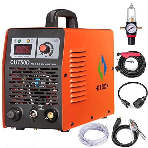 Plasma Cutter Machine CUT50D 110V 220V Dual Voltage Inverter Equipment 45A 1/2