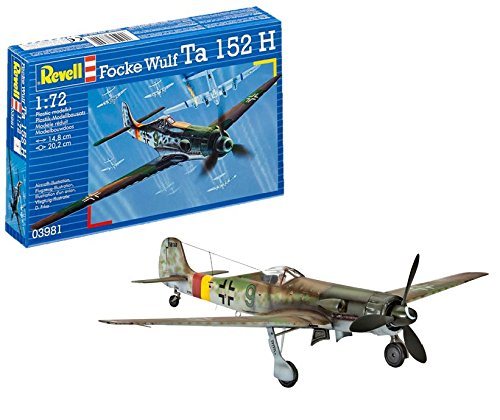 Revell Germany Focke Wulf Ta 152H Model Kit for sale  Delivered anywhere in USA