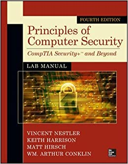 Principles of Computer Security Lab Manual, Fourth Edition (Osborne Reserved)