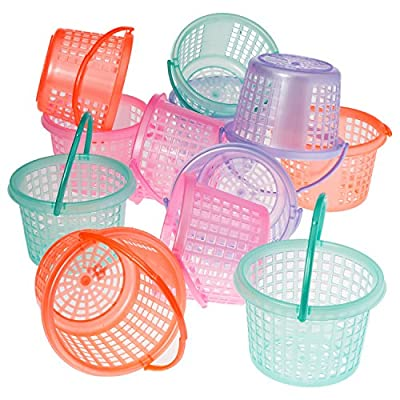 Prextex Easter Eggs Basket Great for Easter Egg Hunts and Easter Eggs Festival from Prextex