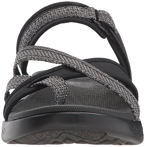 15308 600 On Size UK4 Glow The Skechers Grey Colour Black Go I4wg5q