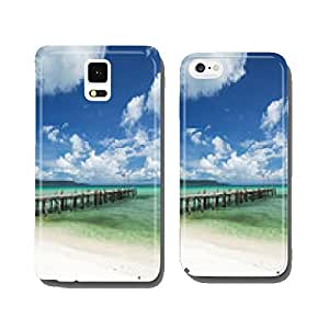 sok san pier on long beach in koh rong island cambodia cell phone cover case iPhone6