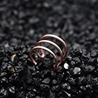 Jewelry Earrings for Women Handmade Parallel Stacking Lines Cuff No Piercing Cartilage Customizable Fake Piercing Earings