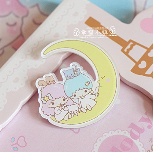 Star cute little cartoon brooch badge badges acrylic bag twin needle decorative ()