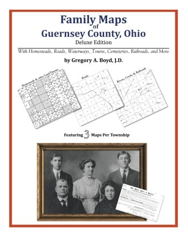 Family Maps of Guernsey County, Ohio