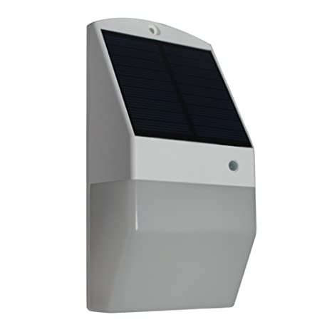 Lámpara solar led de pared con sensor de movimiento, lámpara exterior, 1816A