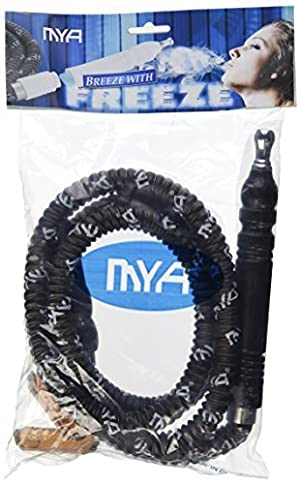 Hookana Premium Black MYA Freeze Hookah Shisha Hose by MD Wholesalers