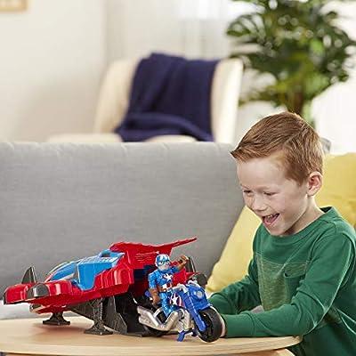 Super Hero Adventures Playskool Heroes Marvel Spider-Man Jetquarters: Toys & Games
